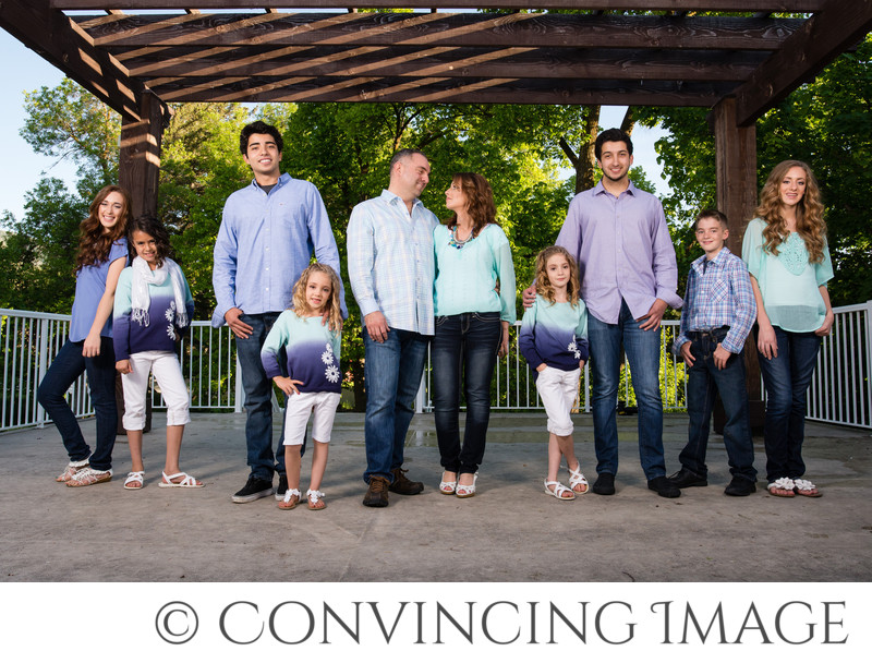 Logan Utah Blended Family Photographer