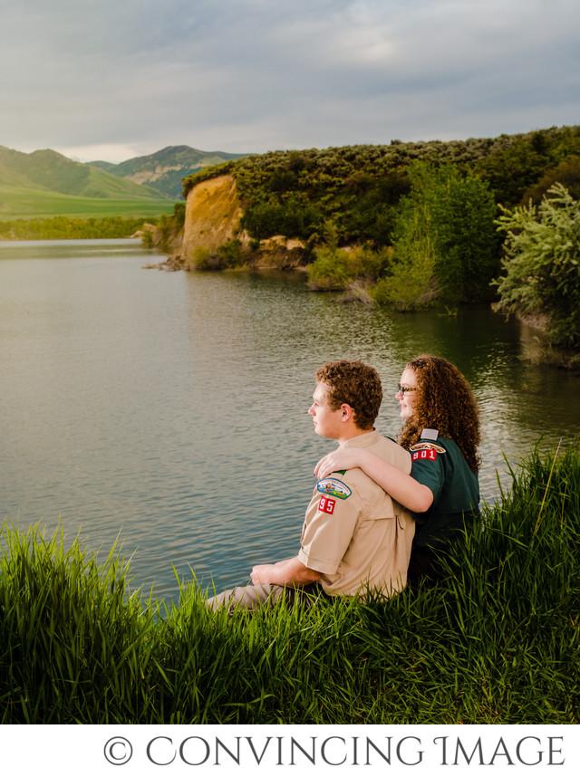 Hyrum Dam Family Photography