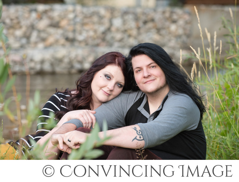 Engagement Photos 2nd Dam Logan Utah