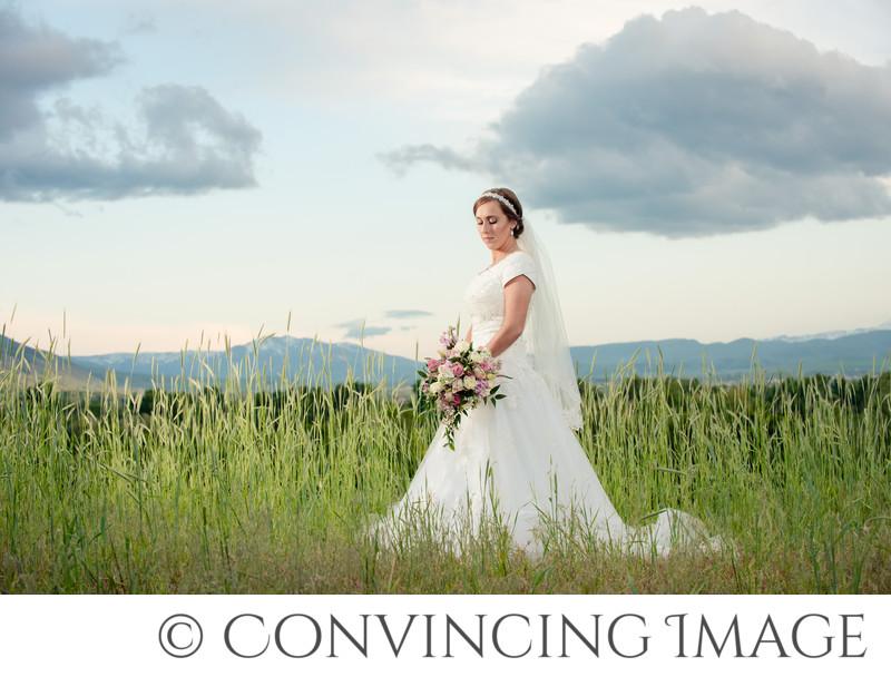 Cache Valley Mountains Wedding