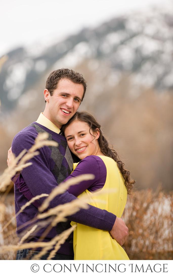 Logan Utah Engagement Photography Zach & Anna