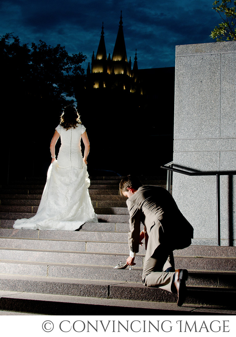 Wedding Photography at Salt Lake Temple