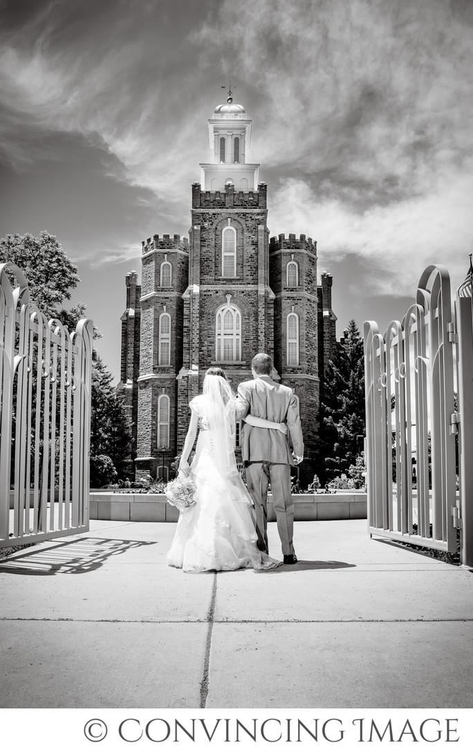 Best Logan Temple Wedding Photography