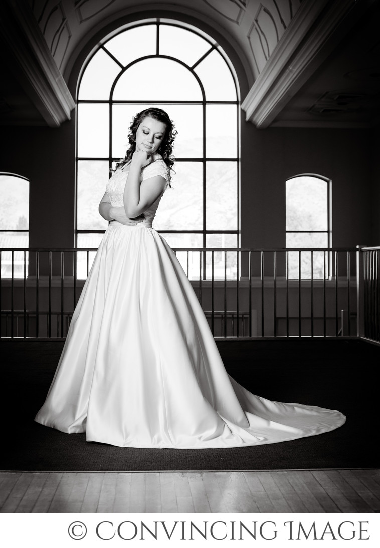 Wedding Photo at Bullen Center in Logan