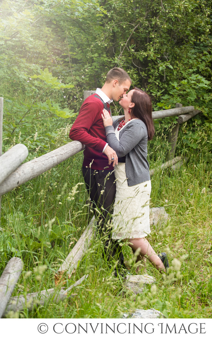 Engagement Photos in Logan Canyon