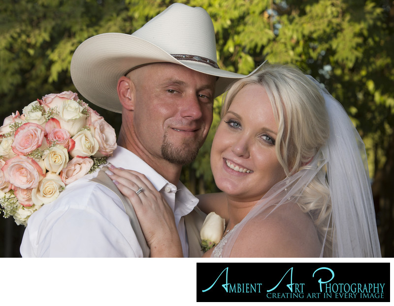 Cowboy wedding at the Grove, Sanger, CA