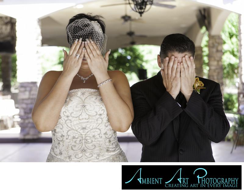 First look.  Wedding couple Kingsburg