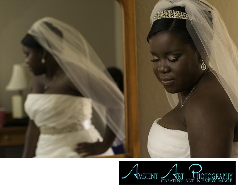 Lovely Bride at the Ramada Inn, Fresno, CA