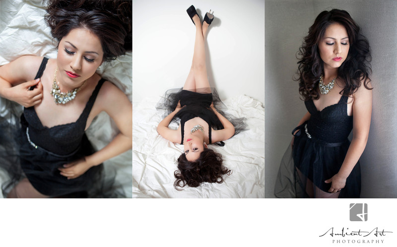 Sarah's shoot, boudoir
