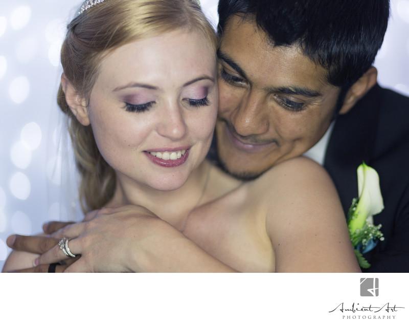 Bride and Groom enjoying their first Dance.  Dinuba,