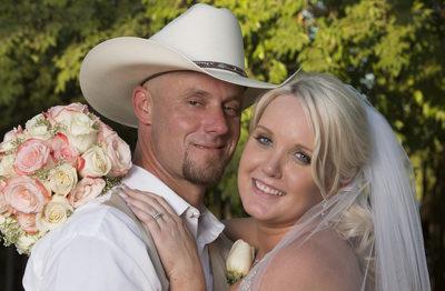 Cowboy wedding at the Grove, Sanger, CA