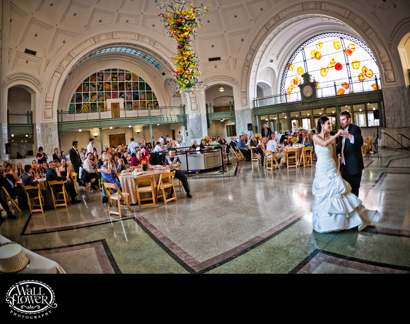 First dance in Tacoma Union Station Rotunda