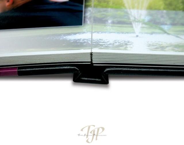 Travel book folds flat