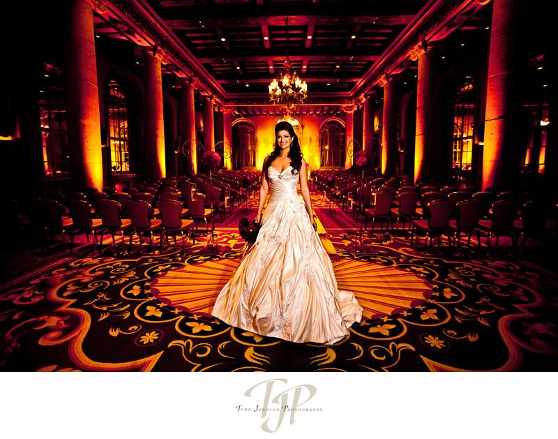 Millennium Biltmore wedding photography