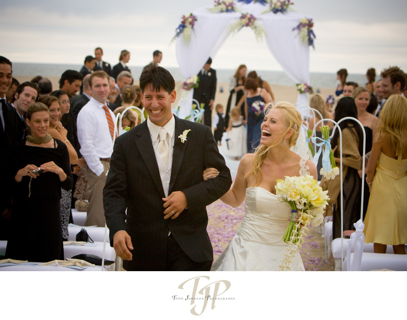 Shutters beach wedding