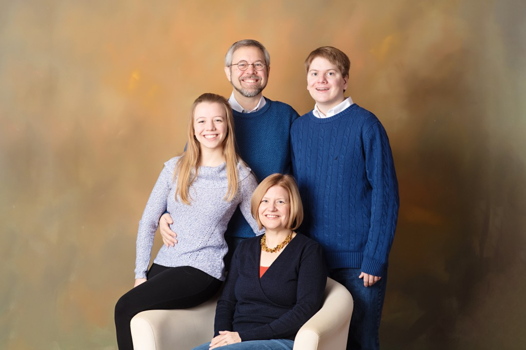Studio Family Photos Near Minneapolis