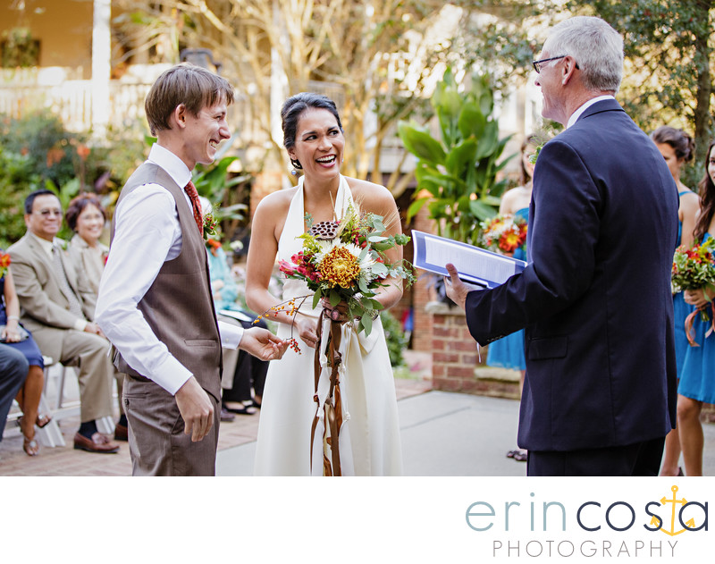 Chapel Hill Carriage House Wedding Photographers