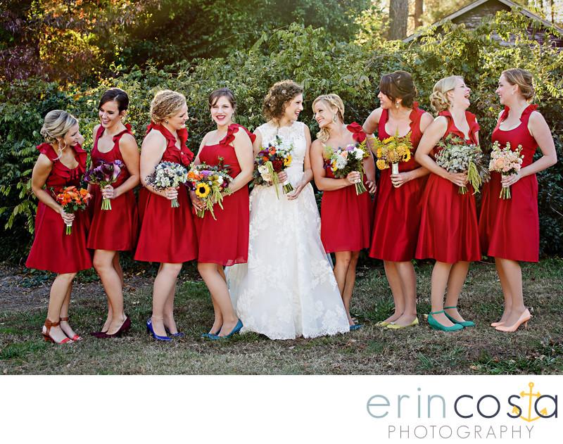 The Oaks at Salem Wedding Photographers 1
