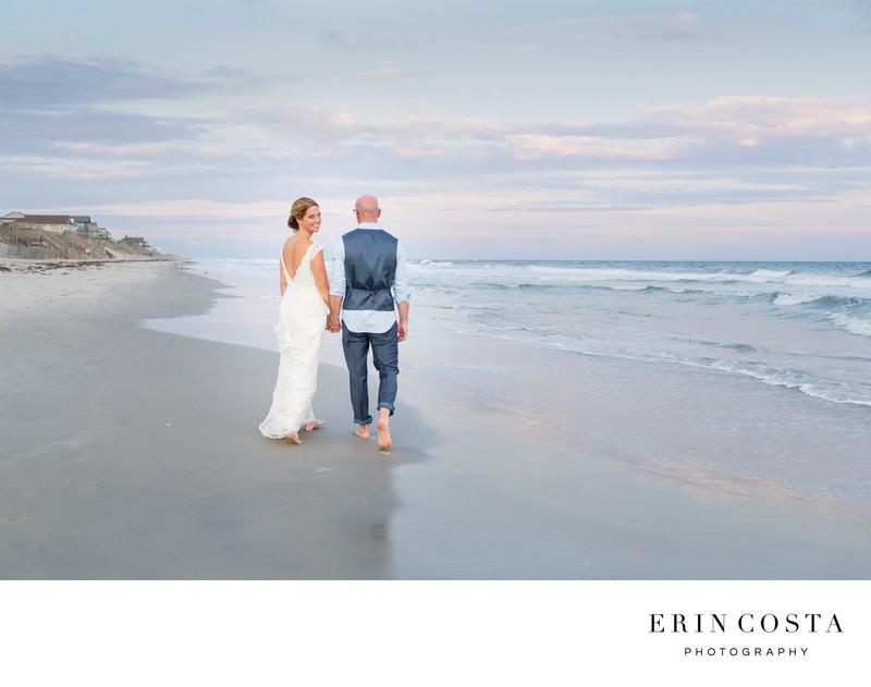 topsail island wedding photos