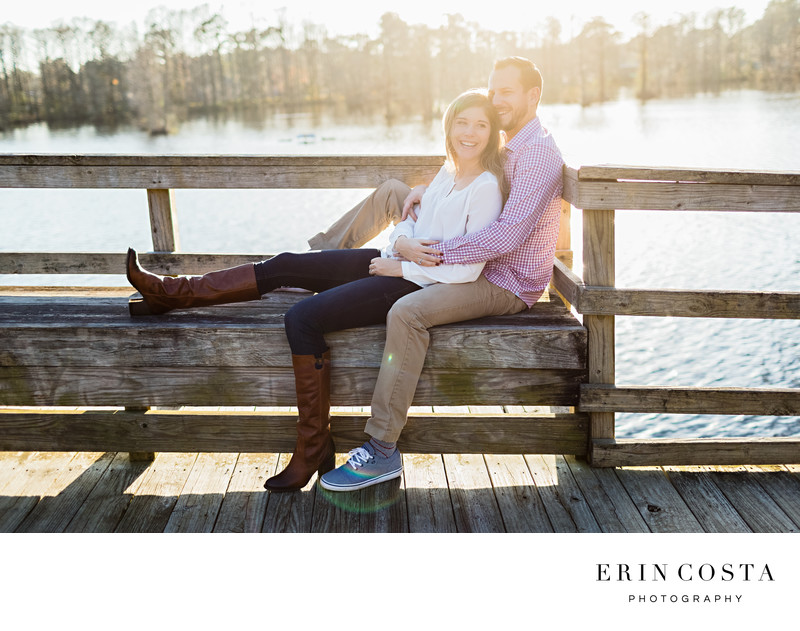 Greenfield Park Engagement Photos