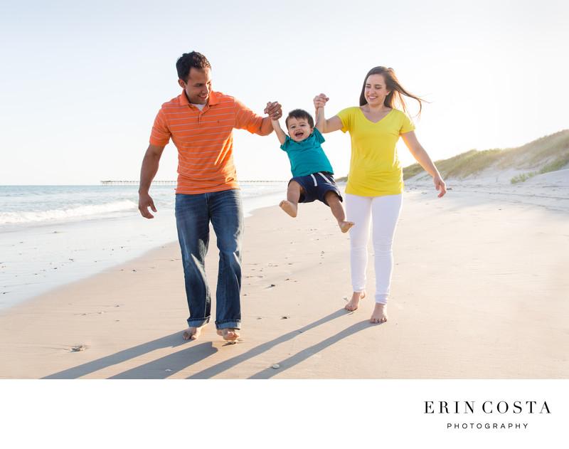 Fun Family Photographers Topsail Island
