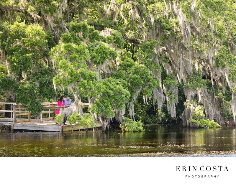 Airlie Gardens Engagement Pics