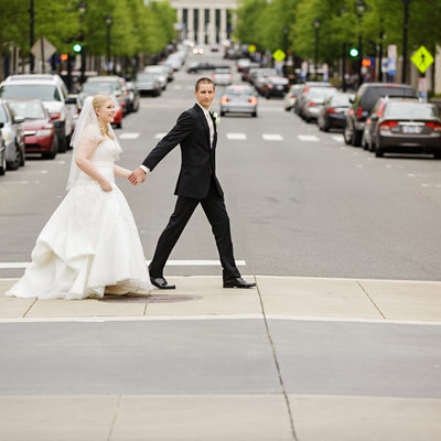 Downtown Raleigh Wedding Photos