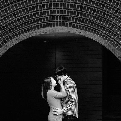Engagement Photos at UNC