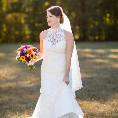 Oaks at Salem Bridal Portraits