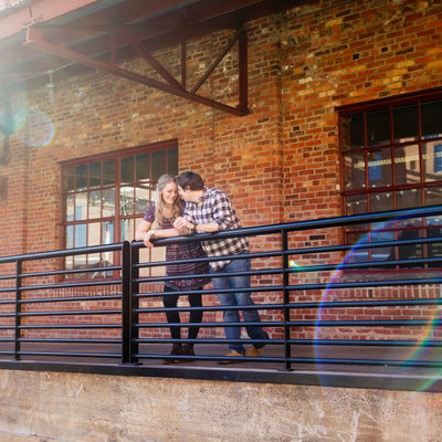 American Tobacco Campus Engagement Photos