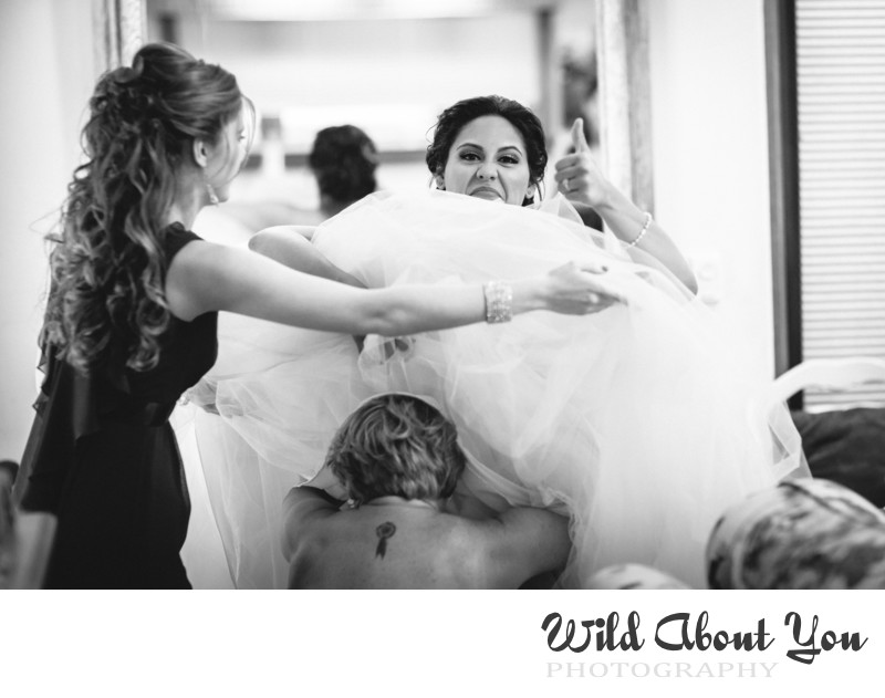 fun nestldown wedding photographer