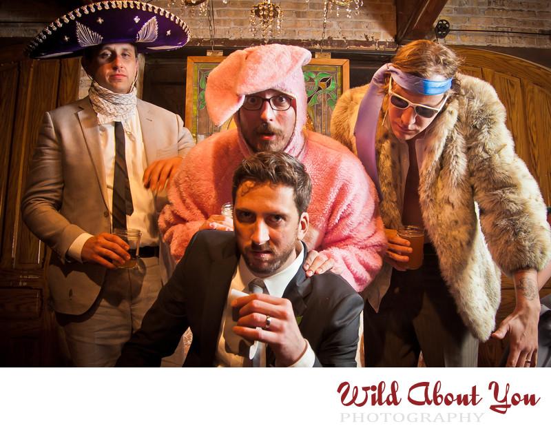 offbeat chicago wedding photographer