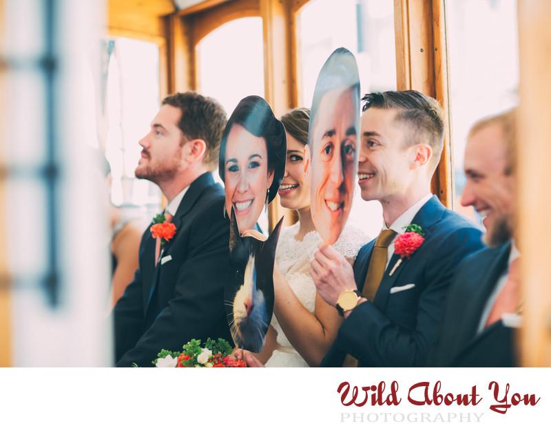 sf cable car wedding photographer