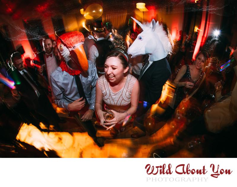 sf city club new years eve wedding photographer