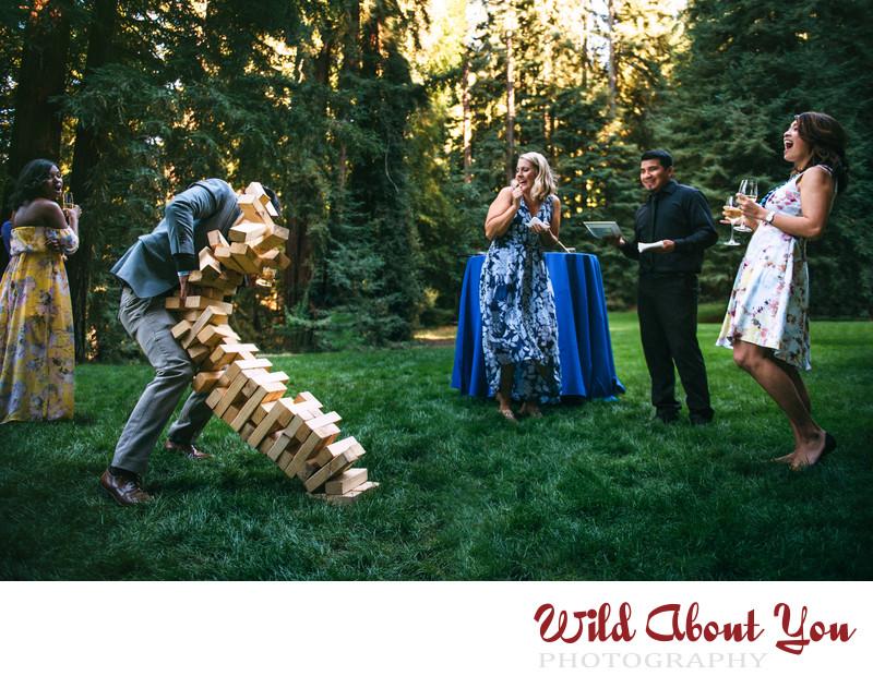 fun south bay area nestldown wedding photography