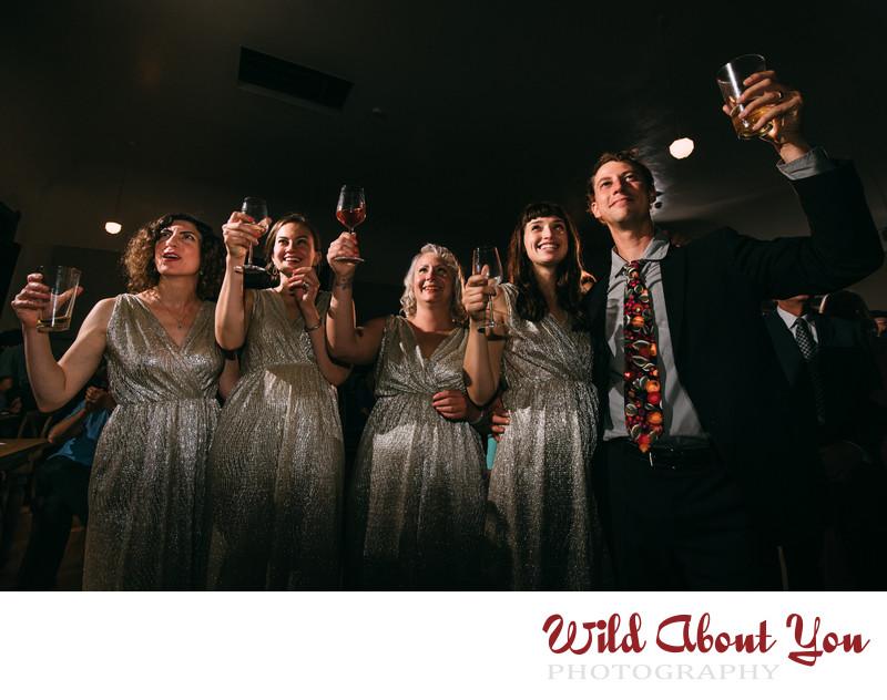 starline social club wedding photographer