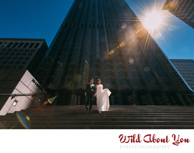 best urban san francisco wedding photographer