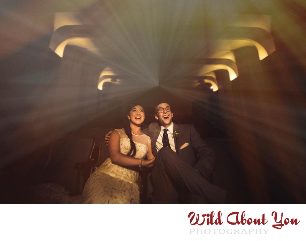 vintage-style wedding photographer