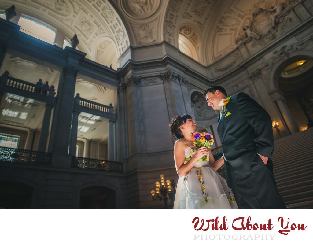 best sf city hall wedding photography