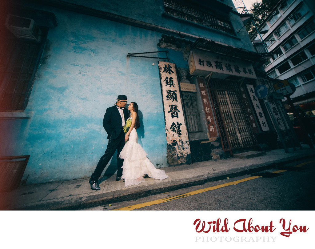 dramatic hong kong prewedding photography