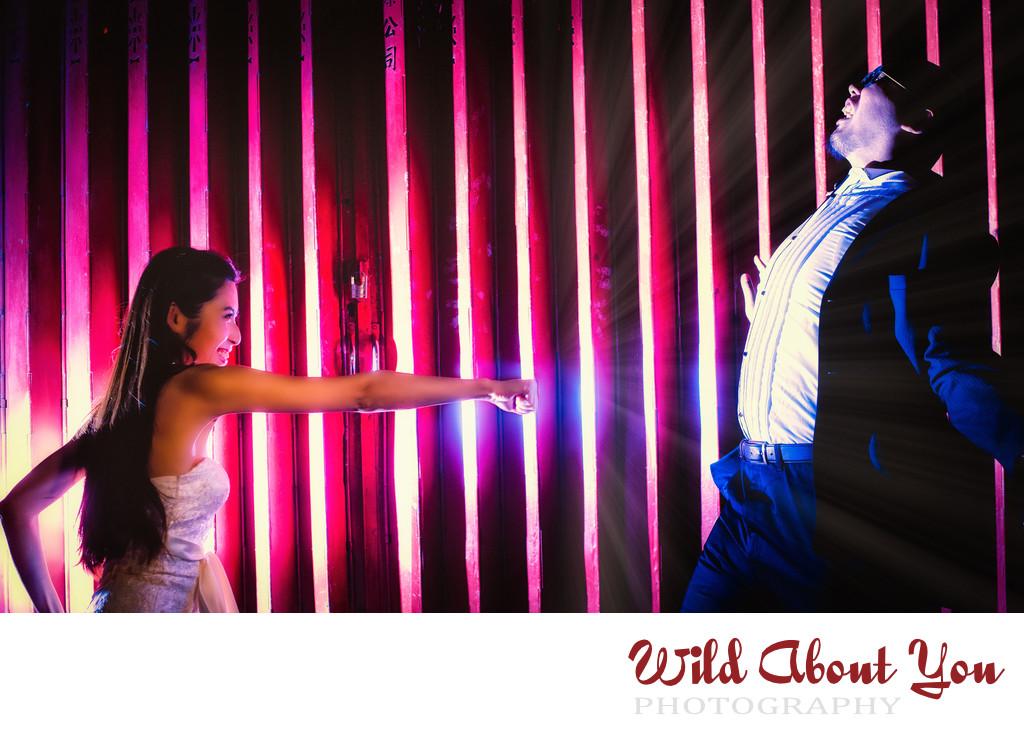 fun hong kong engagement photography
