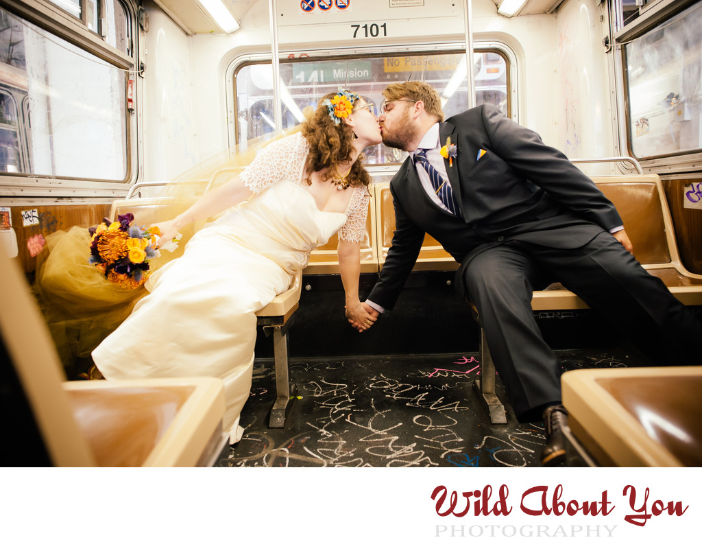 urban san francisco wedding photographer