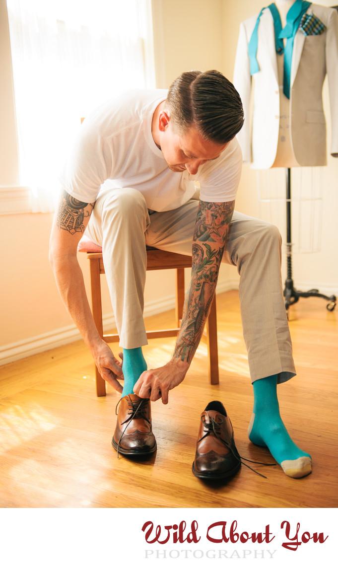tattooed bay area wedding photographer