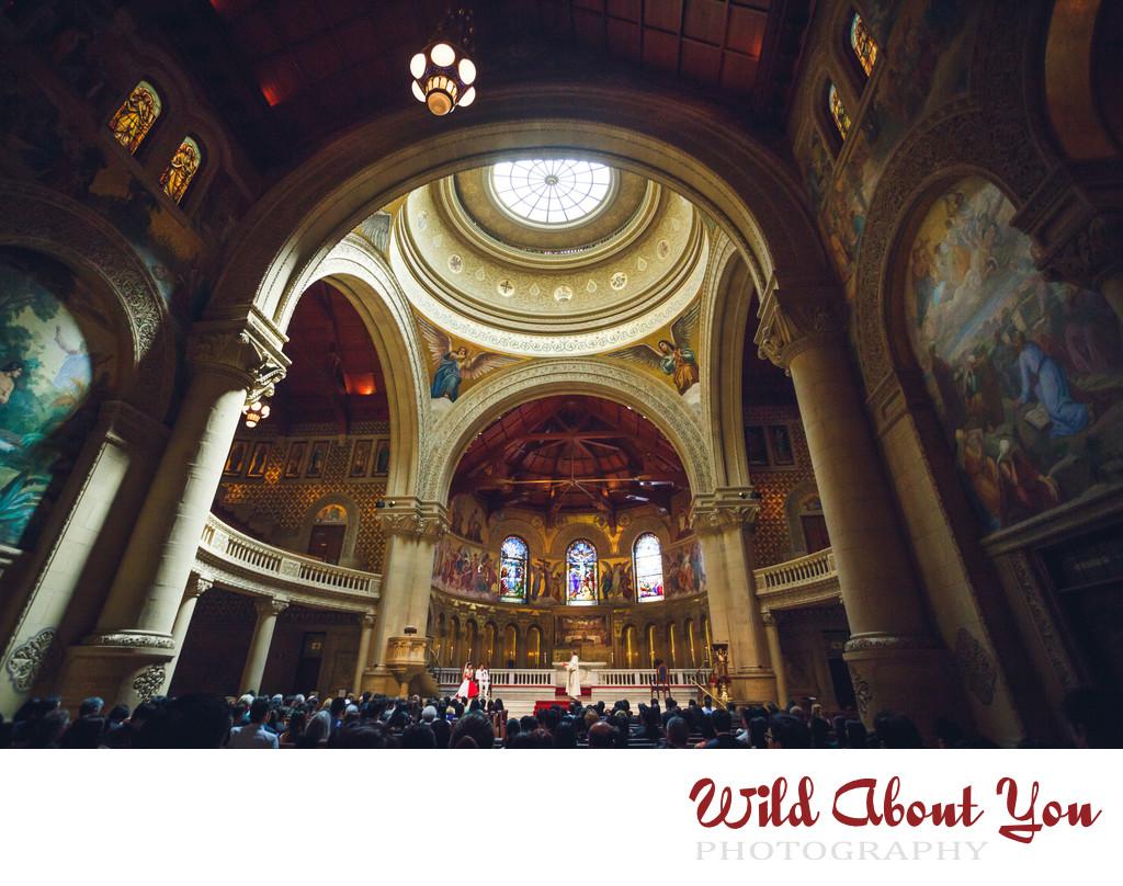 best stanford memorial church wedding photographer