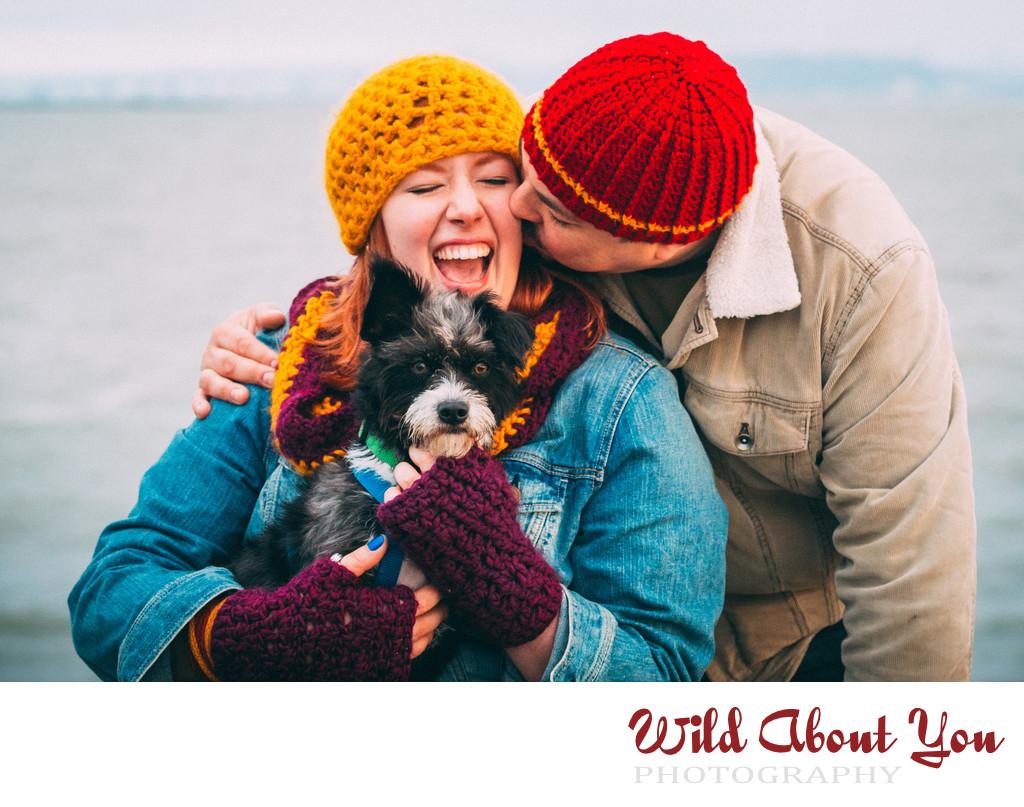 pet engagement photographer