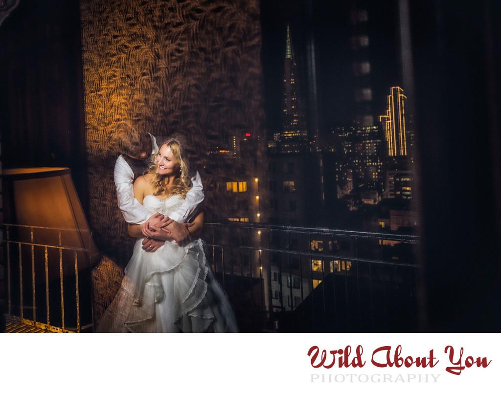 university club sf wedding photographer