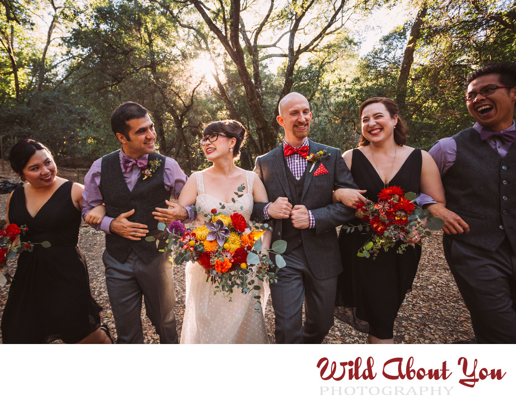 best bay area forest wedding photographer