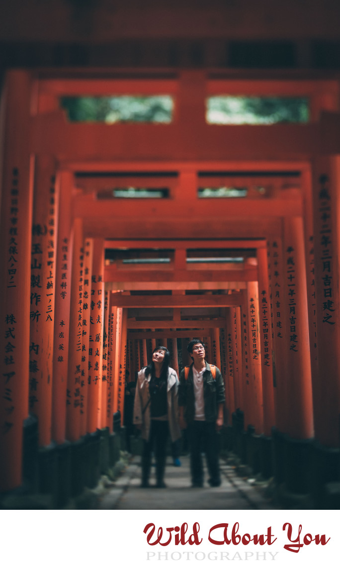 fun japan engagement photographer