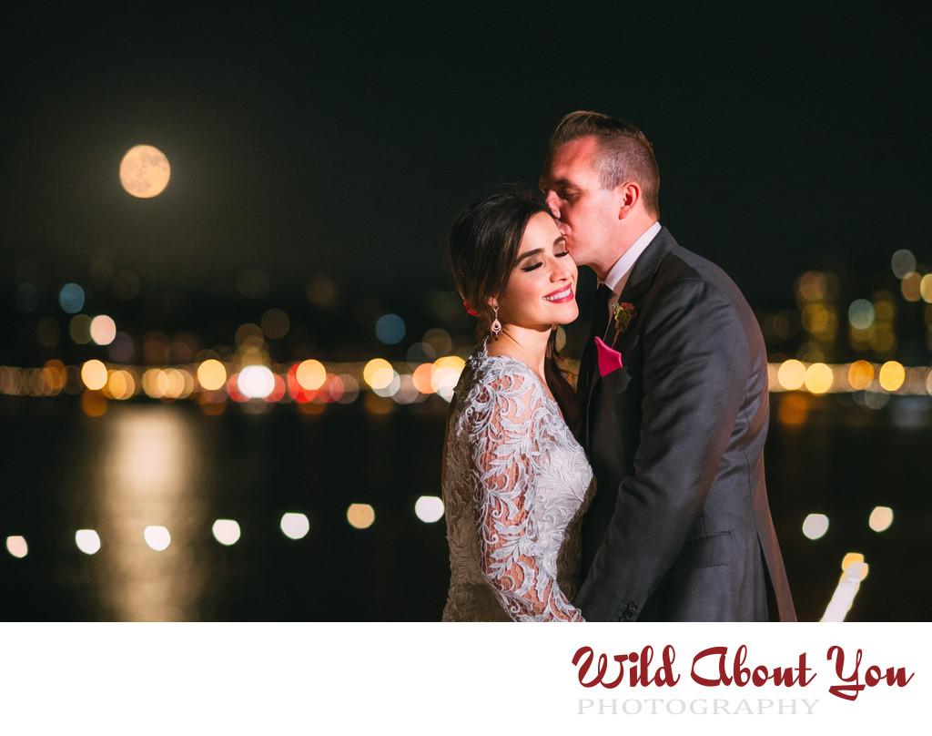 oakland night wedding photography