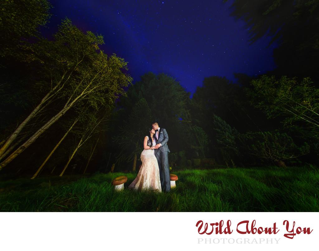 whimsical nestldown wedding photographer